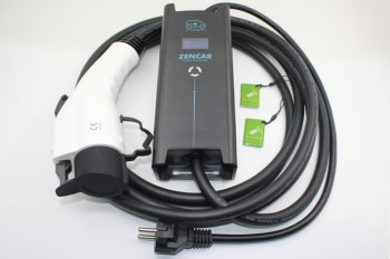 Ladekabler til elbil og pluginn-hybrid. ZenCar nødlader-Ladefabrikken AS
