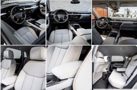 Audis elbil er først ute med virtuelle speil.audi-e-tron-ladefabrikken